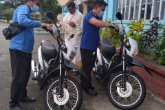 Blessing of New Service Motorcycles of the Loans & Savings Department (CGMPC Head Office)